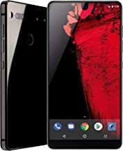 Essential Phone (128GB + 4GB RAM) 5.71in QHD, Water Resistant IP54, GSM/CDMA Factory Unlocked (AT&T/Sprint/T-Mobile/Verizon) - Black Moon (Renewed)