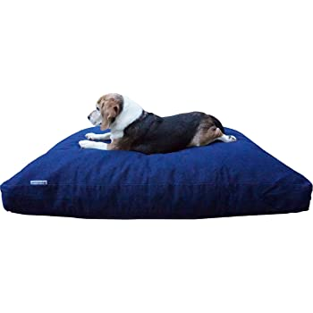 Dogbed4less Extreme Comfort Memory Foam Dog Bed Pillow, Waterproof Lining and Durable Machine Washable Cover
