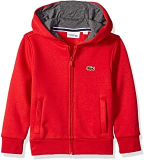 Lacoste Boys' Sport Hooded Fleece Sweatshirt