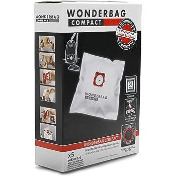 AmazonBasics - Bolsas para aspiradora R11 con control de olor, para Rowenta y Moulinex - Pack de 4: Amazon.es: Hogar