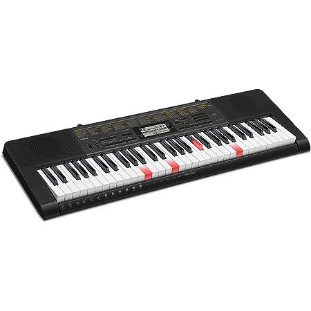 Casio LK-265 61keys Negro piano digital - Teclado electrónico (5,5 W, 946 mm, 307 mm, 92 mm, 3,6 kg, 6,3 mm)