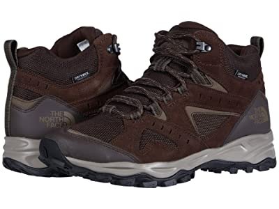 The North Face Trail Edge Mid Waterproof (Demitasse Brown/Bipartisan Brown) Men