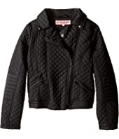 Urban Republic Kids - Moto Thinfill Quilted Jacket (Little Kids/Big Kids)
