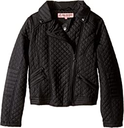 Moto Thinfill Quilted Jacket (Little Kids/Big Kids)