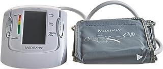 Medisana MTP Pro Tensiómetro para el brazo, pantalla de arritmia, escala de colores de los semáforos de la OMS, para una medición precisa de la tensión arterial y del pulso con función de memoria