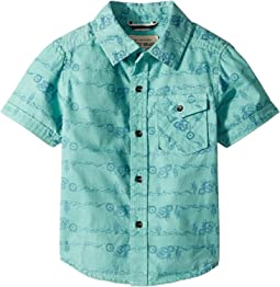 Lucky Brand Kids - Short Sleeve Printed Shirt (Toddler)