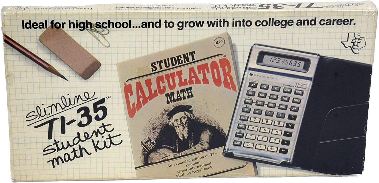 Texas Instruments TI-35X Scientific Sales for sale Operated Calculator Max 85% OFF Battery