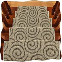 JIAJUAN Stair Carpet Treads Thicken Non-Slip Rubber Backing Rugs Home, 14mm, 4 Styles, 5 Sizes, Customizable (Color : C-5 ...