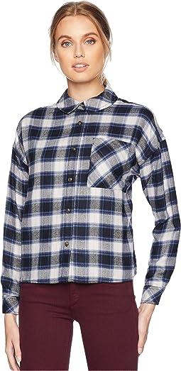 Oversized Drop Shoulder Button Down Shirt
