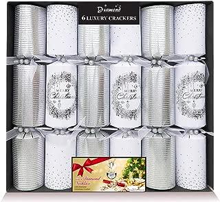 Christmas Cracker & Silver & White Luxury Pack 6