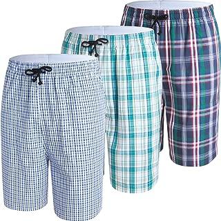 Men's Sleep Shorts Lounge Sleepwear 3PACK