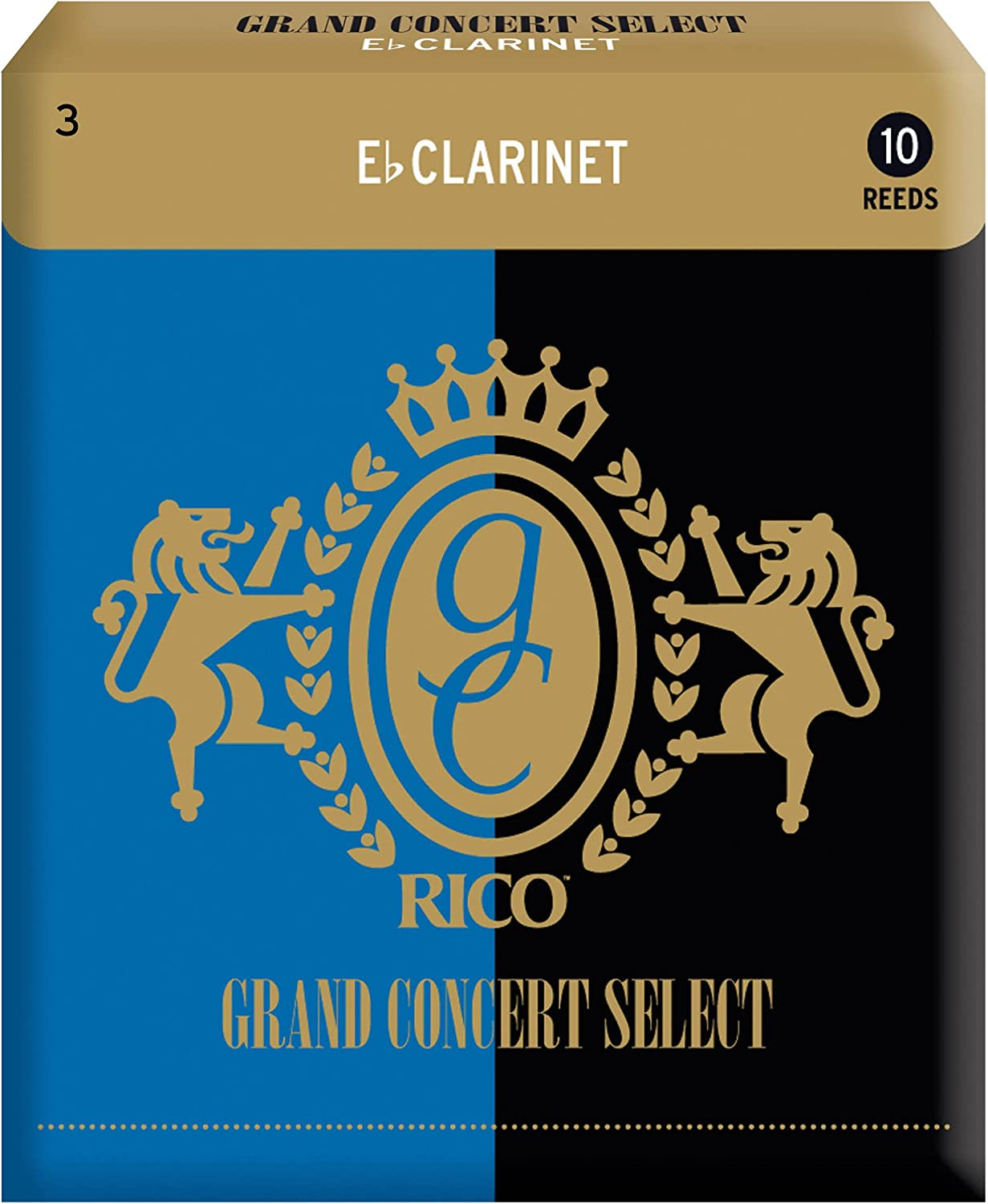 Rico Max 65% OFF Grand Concert Select Boston Mall Eb 10-pa 3.0 Clarinet Reeds Strength