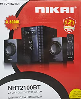 Nikai 2.1 Channel Home Theater System Nht2100Btn