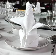Best white cloth napkins in bulk Reviews