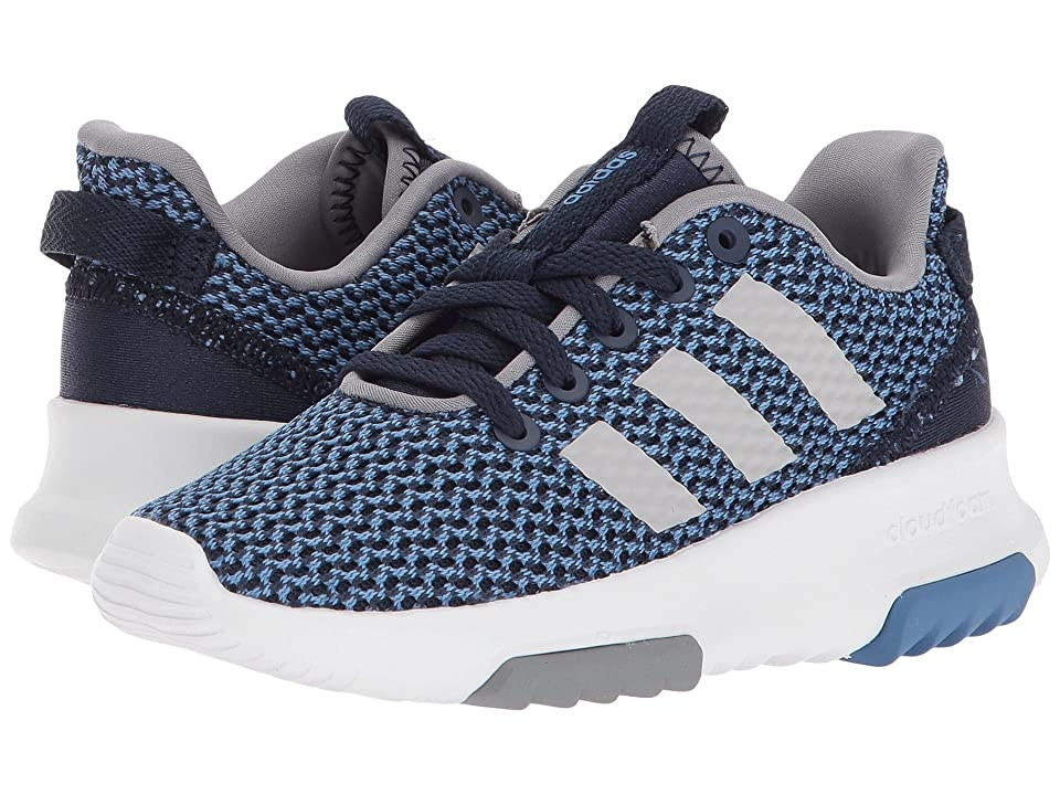 adidas Kids Cloudfoam Racer TR (Little Kid/Big Kid) (Navy/Navy/Grey 2) Kids Shoes