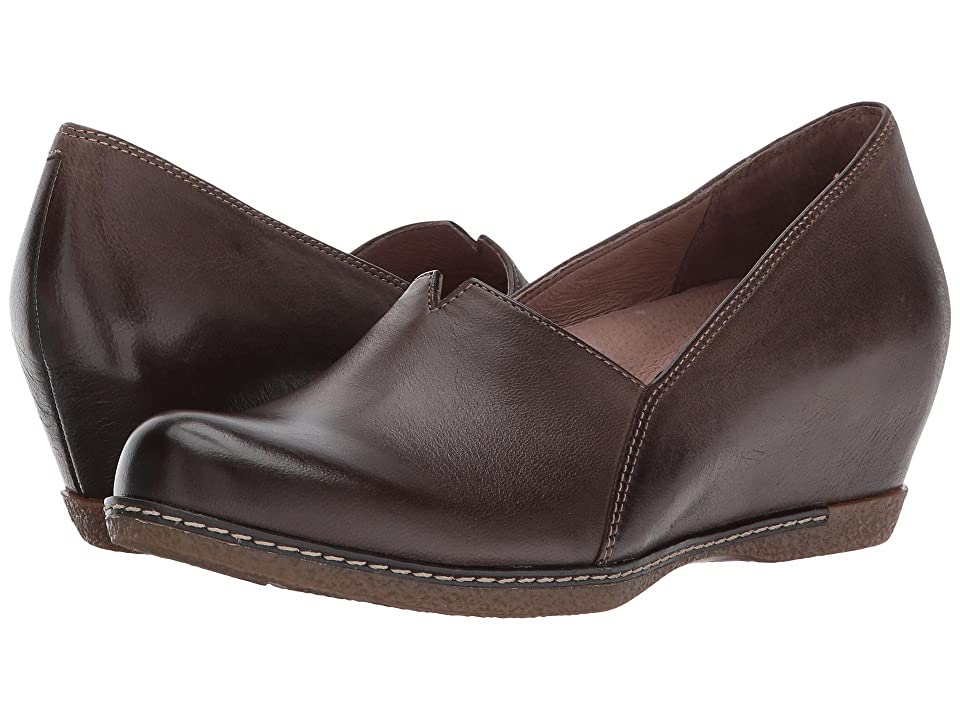 Dansko Liliana (Teak Burnished Nubuck) Women