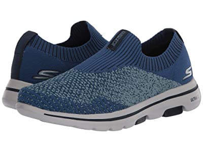 SKECHERS Performance Go Walk 5 Merritt (Navy/Blue) Men