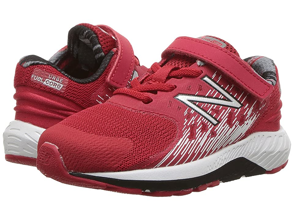 New Balance Kids KVURGv2I (Infant/Toddler) (Red/Black) Boys Shoes