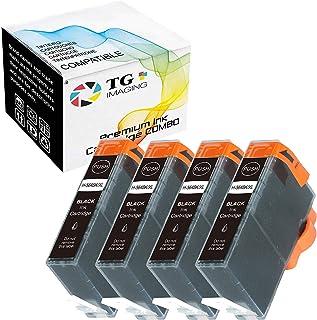 (4 حزم) خرطوشة حبر سوداء متوافقة مع التصوير TG 564 XL 564XL (4xأسود) للاستخدام في طابعة HP 5510 5511 5514 C310a C510 C5300...