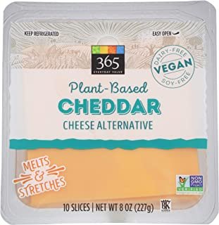 365 Everyday Value, Non-Dairy Cheddar Cheese Slices, 7 oz