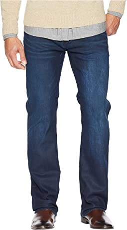 Driven X Relaxed Jeans in Coated and Worn Out