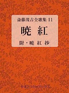 暁紅 斎藤茂吉全歌集11