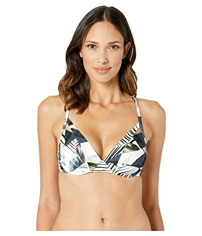 La Blanca Moment Of Zen Underwire Push-Up Top (Blue) Women