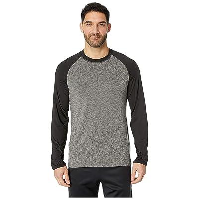 Jockey Cool-Sleep Sueded Jersey Top (Charcoal) Men