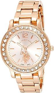 Women's Quartz Watch with Alloy Strap, Gold, 16 (Model:...