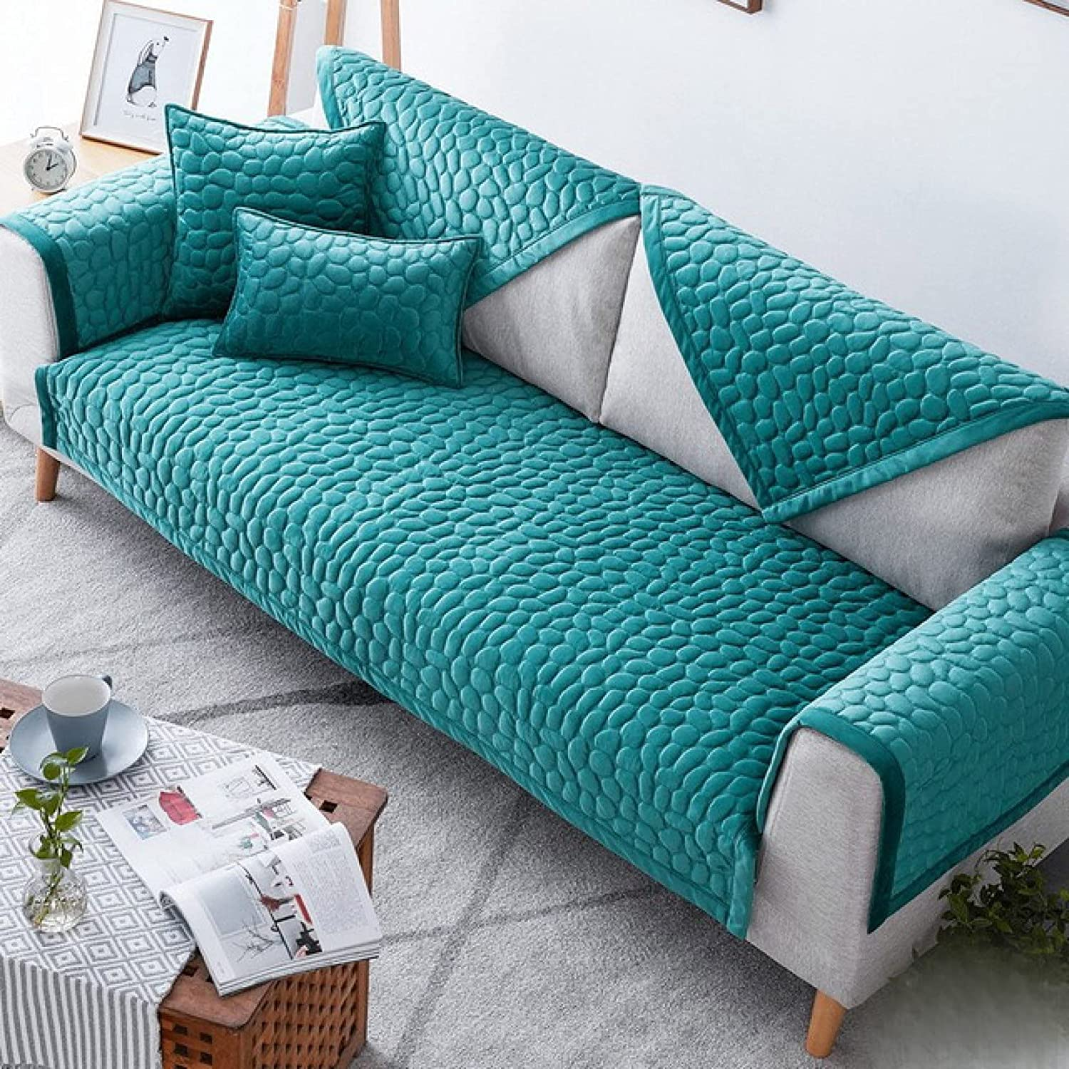 Sofa Slipcover Universal Max 74% OFF Towel Cover Slip Resistant Large discharge sale Couch C