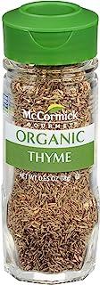 McCormick Gourmet, Thyme Leaves, 0.65 oz