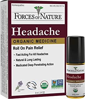 Forces of Nature Headache Pain Management, 4 ml (Pack of 1)