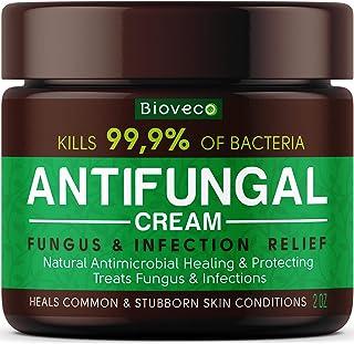 Antifungal Cream - Toenail Fungus Treatment & Athletes Foot Cream - Made in USA - Powerful Skin Fungus Cream - Eczema, Joc...