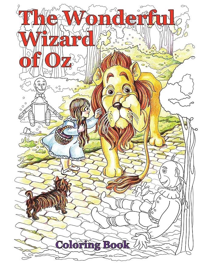 不和わかる感謝The Wonderful Wizard of Oz Coloring Book