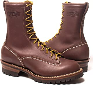 12 E Wesco /'Jobmaster/' ST208100 Men/'s Work Boots Brown Leather #100 Vibram Sole 8/″ Height