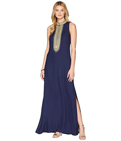 Lilly Pulitzer Jane Maxi Dress (True Navy) Women