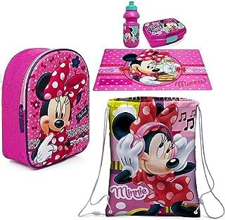 ALMACENESADAN 2087 Figura 3D di Sandwichera Disney Minnie Mouse; Dimensioni 16,5x11,5x5,5 cm