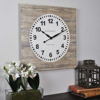 FirsTime & Co. Jackson Square Wall Clock, 15.5