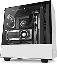 NZXT H500i - Compact ATX Mid-Tower PC Gaming Case - RGB Lighting and Fan Control - CAM Smart Device - Enhanced Cable Management System – Water-Cooling Ready - White/Black - 2018 Model