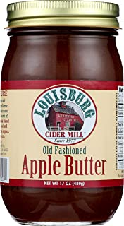 Louisburg Cider Mill, Preserve Apple Butter, 16 Ounce