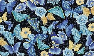 monarch butterfly flower mat