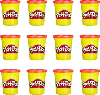 Play-Doh Bulk 12-Pack of Red Non-Toxic Modeling Compound, 4-Ounce Cans