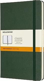 moleskine green notebook