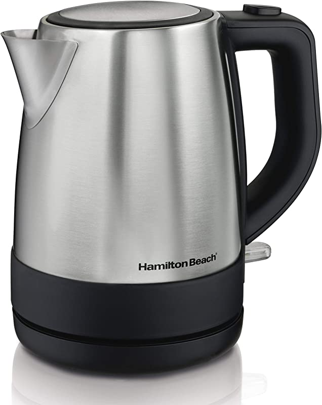 Hamilton Beach 40998 Electric Kettle 1L Silver Renewed