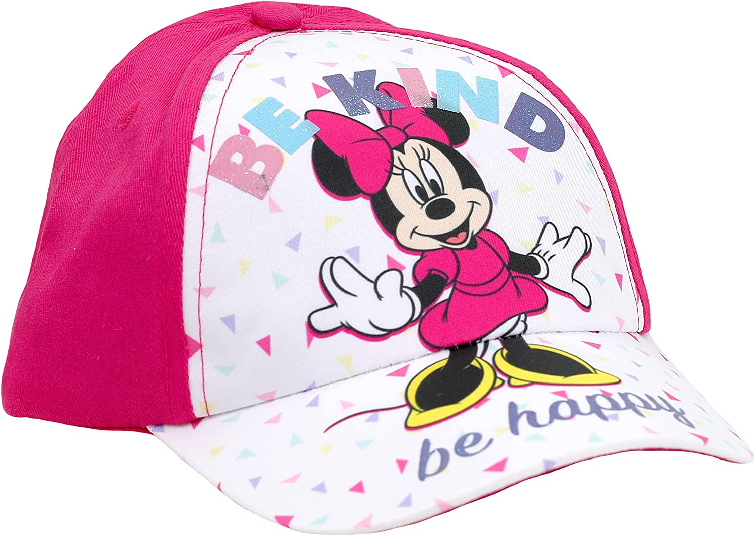 Disney Toddler Girl's Minnie Mouse Baseball OFFicial Cap Pink Our shop most popular Age 2-4