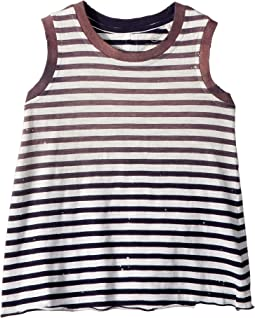 AG Adriano Goldschmied Kids Nixie Stripe Tank Top (Infant)