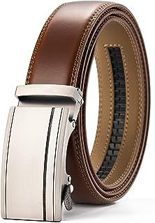 "Mens Belt, CHAOREN Leathet Ratchet Belt for Men Dress 1 3/8"", Adjustable Trim to Exact Fit"