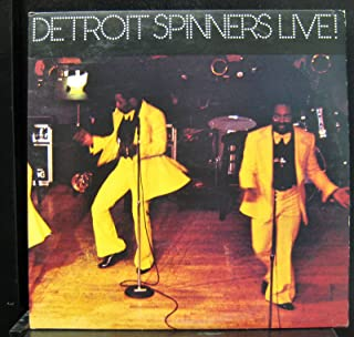 Detroit Spinners - Live! - Lp Vinyl Record
