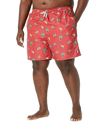 Polo Ralph Lauren Big & Tall Big Tall Traveler Tropical Swim Trunks