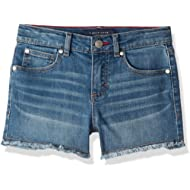 Tommy Hilfiger Girls' Big 5-Pocket Denim Short